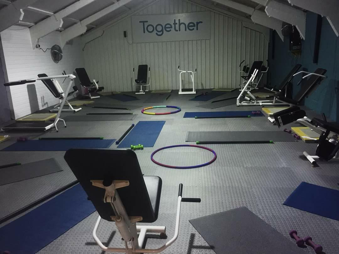 main gym together we fitness