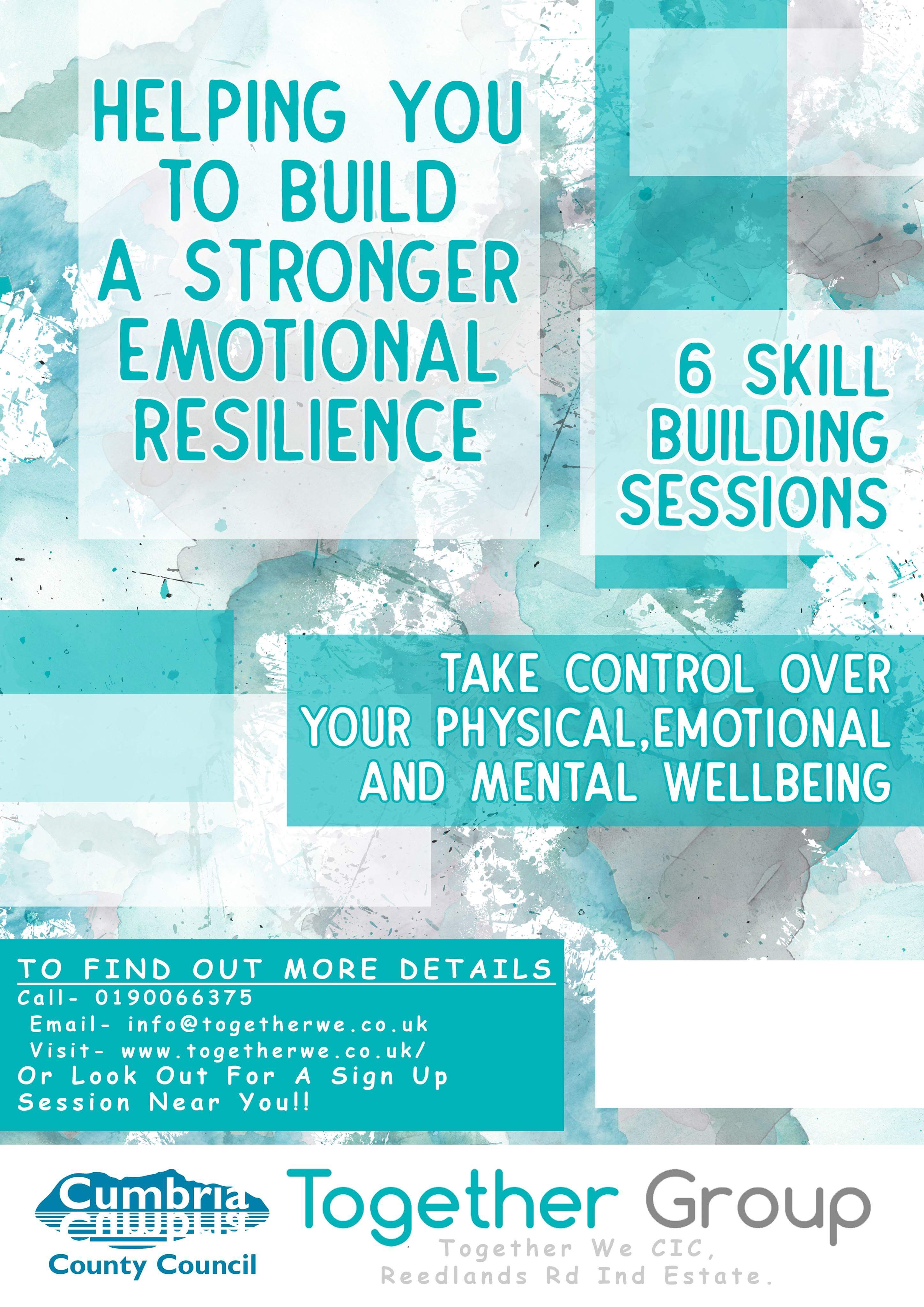 ADULT EMOTIONAL RESILIENCE WORKINGTON