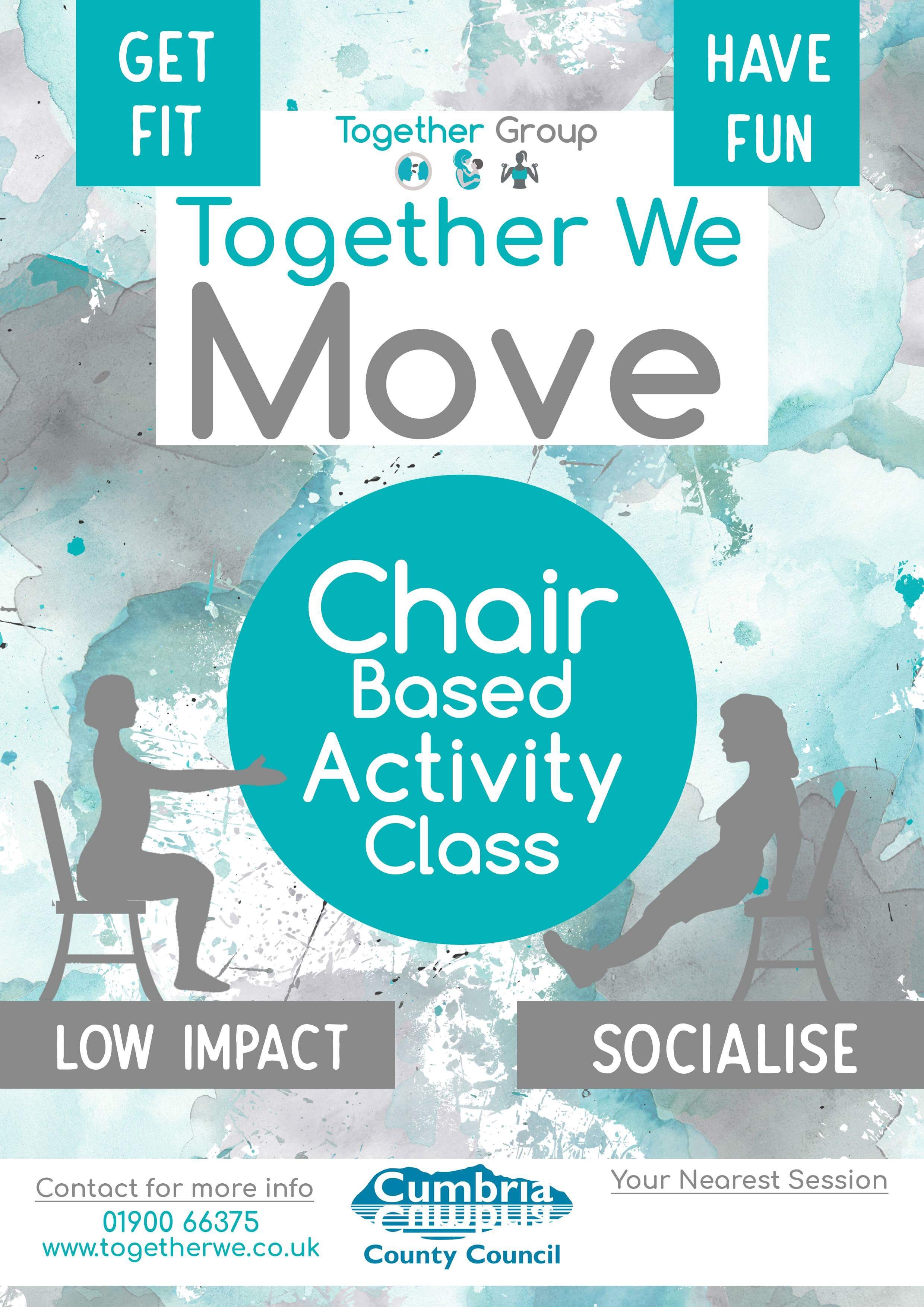 CHAIR BASTED ACTIVITY WORKINGTON
